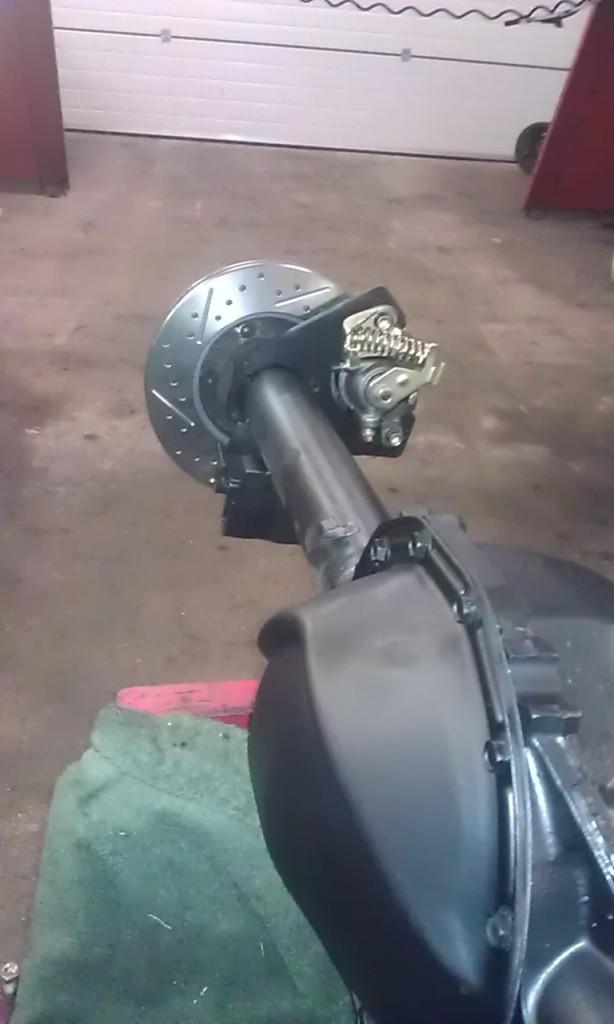 12 bolt chevrolet rear axle