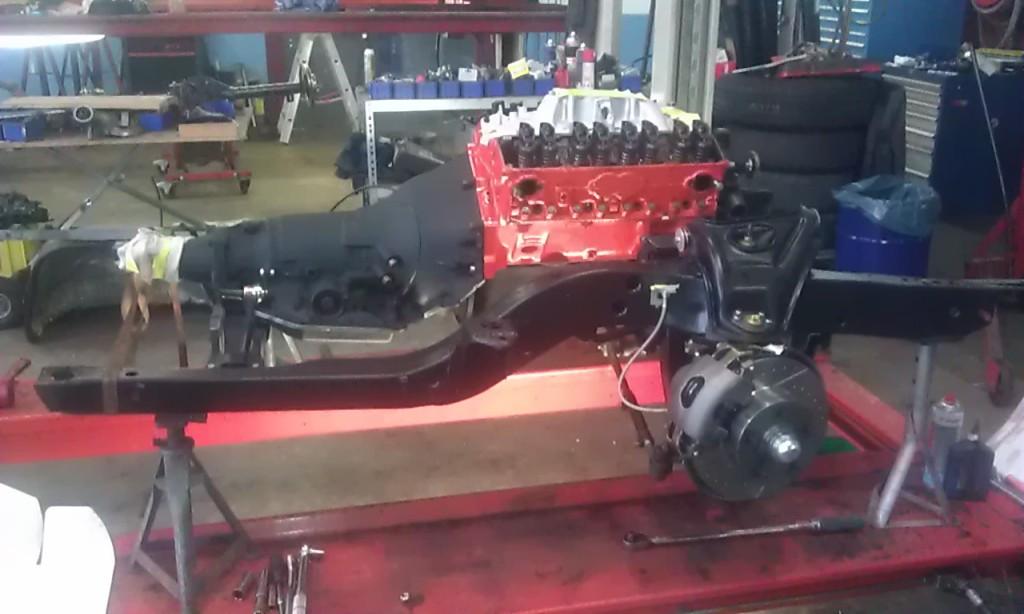 1968 Camaro complete setup